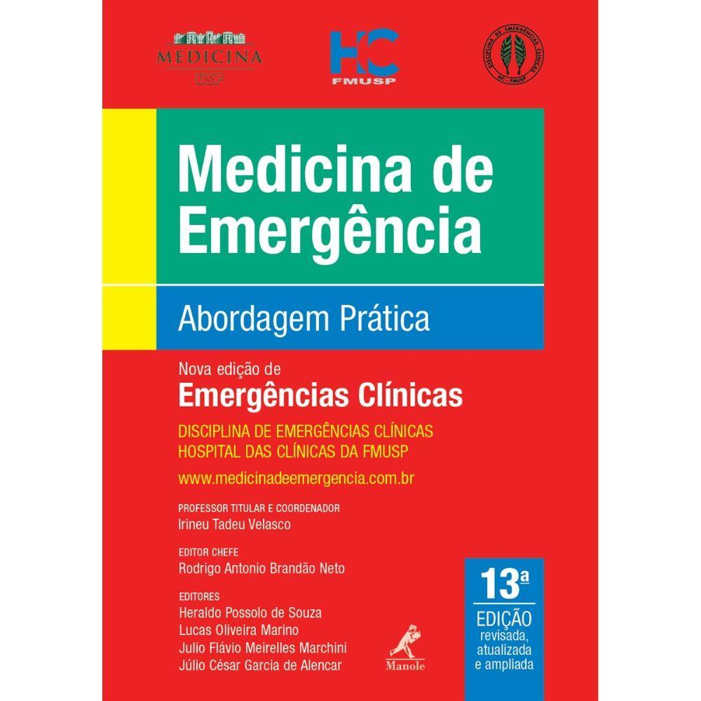 medicina de emergencia livro para plantao